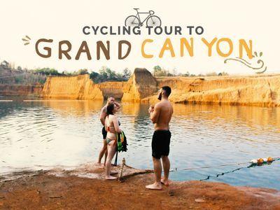 Cycling Tour to Grand Canyon Chiangmai via Peaceful Shortcut
