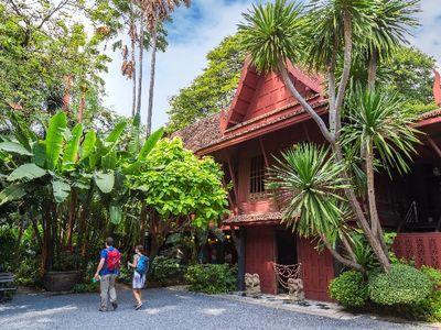 Thai Massage, Thai Traditional House & Food Fun in China Town