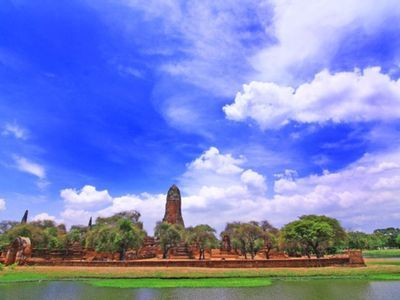 Hang out with Elephants in Ayutthaya