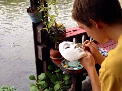 Visit Thai Puppet Artist House by The Canal
