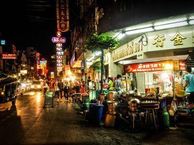 Tuk Tuk Bangkok Night Tour!