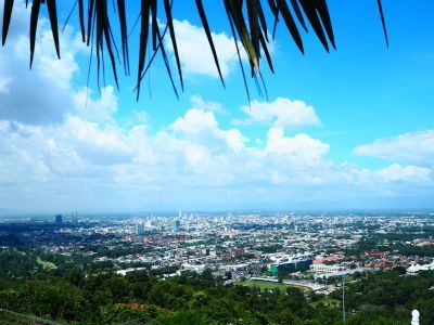 Hatyai city view