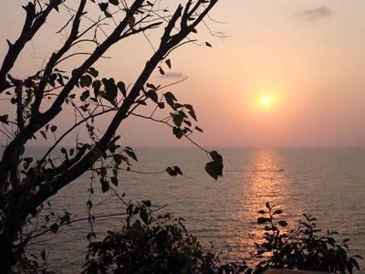 Sun set at Kungvimarn