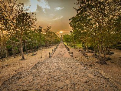 Sundial, Calendar and Khmer temples.