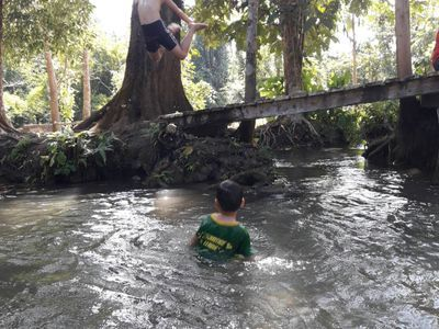 NATURAL SWIMMING POOL FOR LOCAL KIDS
