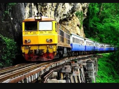 Kanchanaburi province & its historical World War II railway