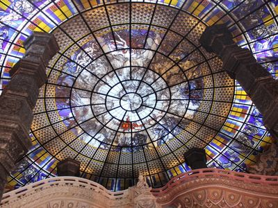 Stained Glass Ceiling