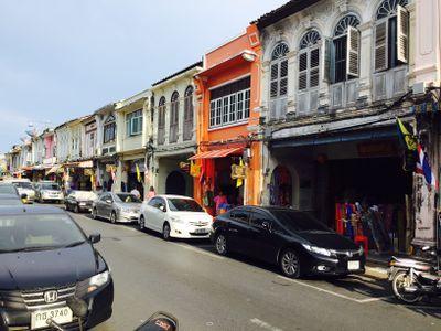 Historical Buildings Thalang Rd
