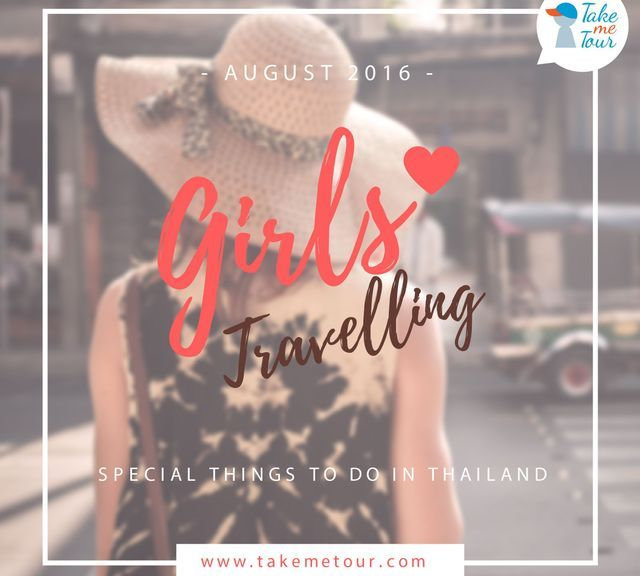Girls travelling in Thailand
