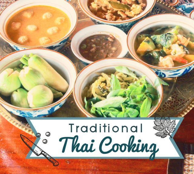 Cooking Class: Learn to Make Thai Home-Cooked Dishes at Baan Thai!