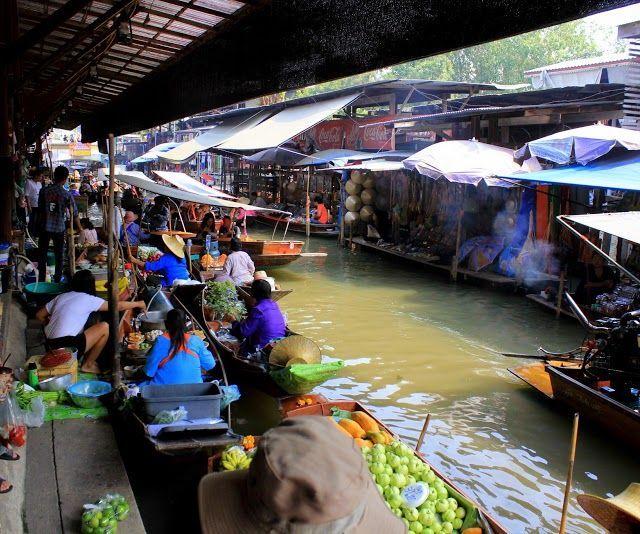 Explore the west of Thailand: Damnoen Saduak Floating Market