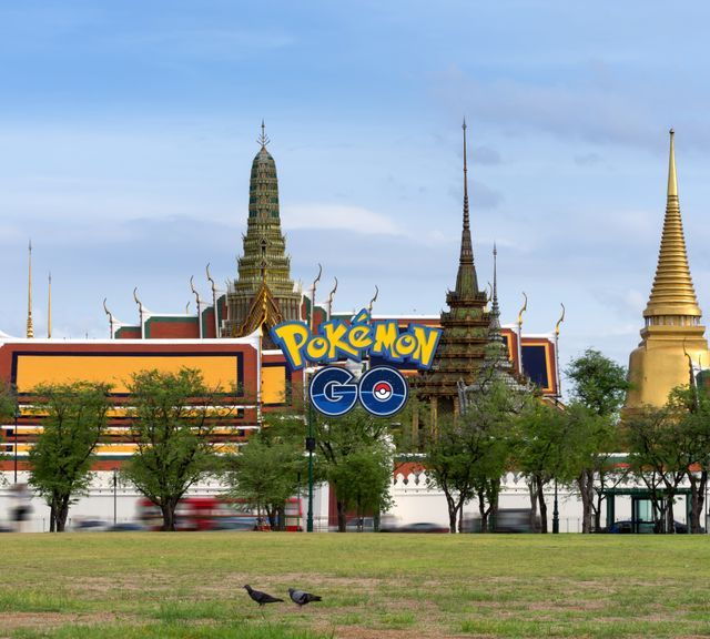 Catch 'Em All: Pokémon (Go) Catching in Bangkok