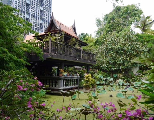 Thai House tour in Sathorn and some yummy things in Suan Plu