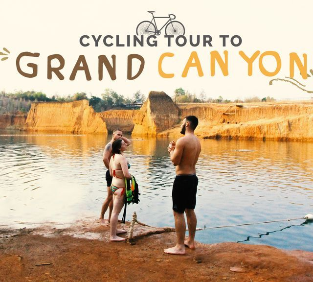 Cycling Tour to Grand Canyon Chiangmai via Peaceful Shortcut