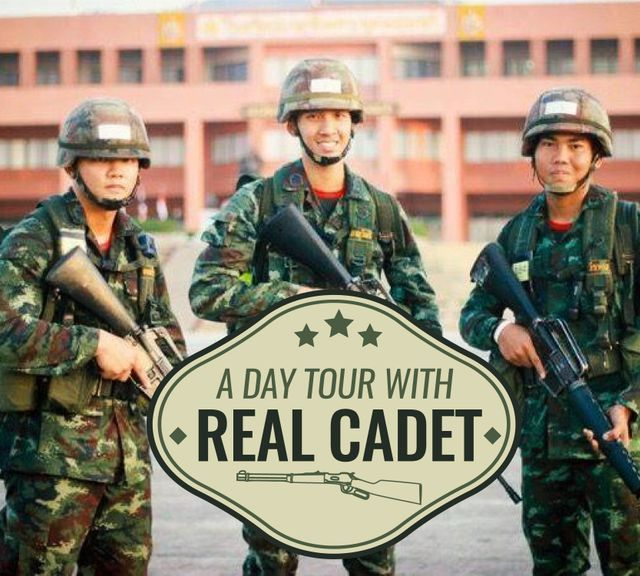 Tour the Thai Royal Military Academy with a Real Cadet!