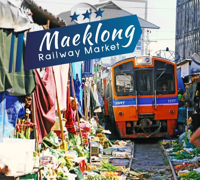 Amphawa Floating Market from Bangkok & Maeklong Railway Tour
