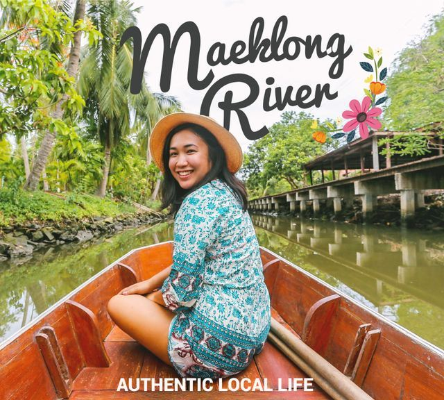 Experience the Authentic Local Life Along the Maeklong River