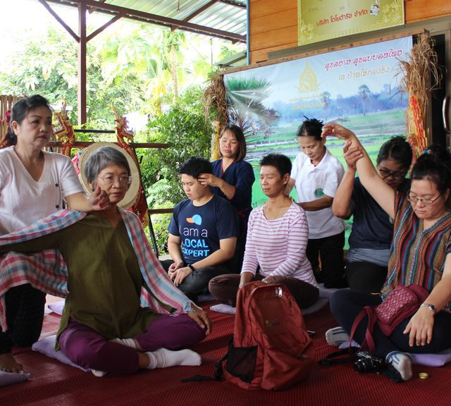 Stay healthy with cycling and relax with traditional 'Yam Krang' Thai massaging