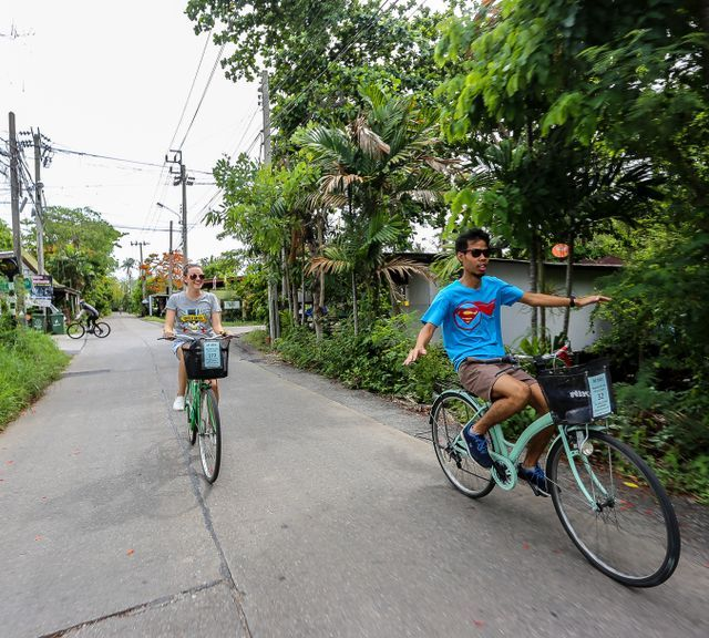 See the Green Side of Bangkok on this Bike Tour of Bang Kra Jao