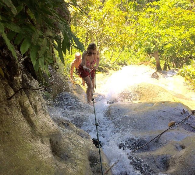 "Explore the Bua Tong ""Sticky"" Waterfall with a Super Local Expert"