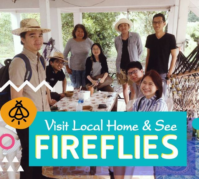 Visit a Local Home & See Fireflies at Koh Kret!