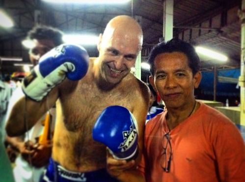 Loei Muay Thai Champion Camp and Mountain Scenic in a day.