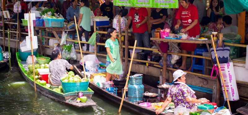 [BKK101] Floating Market Tour