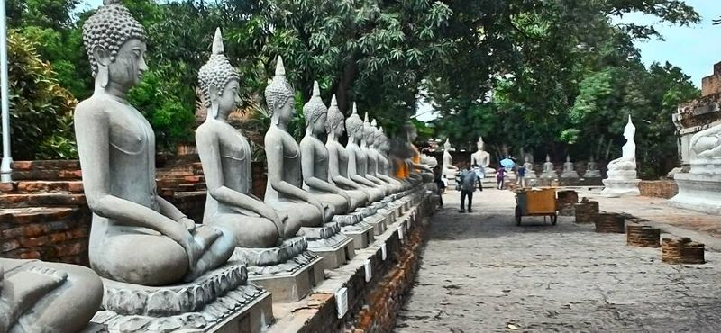 Historical City of Ayutthaya Tour  &  Floating market (Lite)