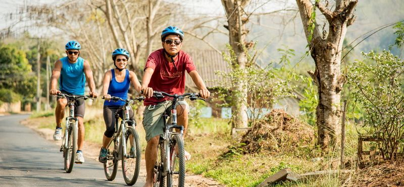 Joined Tour : Biking and Lisu Hill Tribe Village Tour