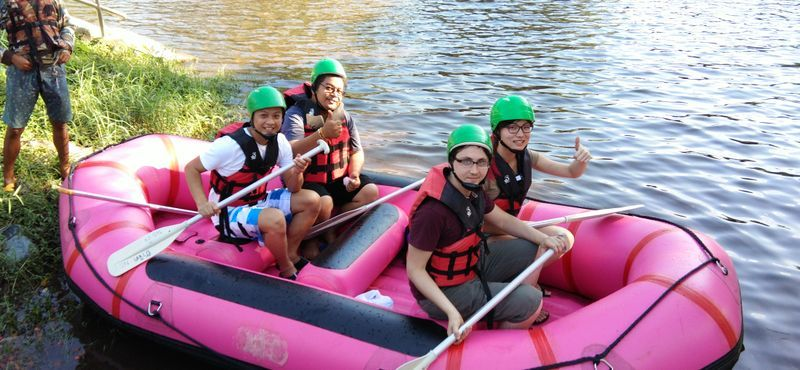 Full Day Adventure in Nakhon Nayok (Paintball, ATV Adventure, Waterfall and Rafting) Day trip from Bangkok.