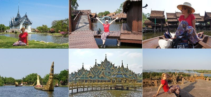 1 Day trip at Muang Boran (Ancient City) & Bangpoo Recreation Center.