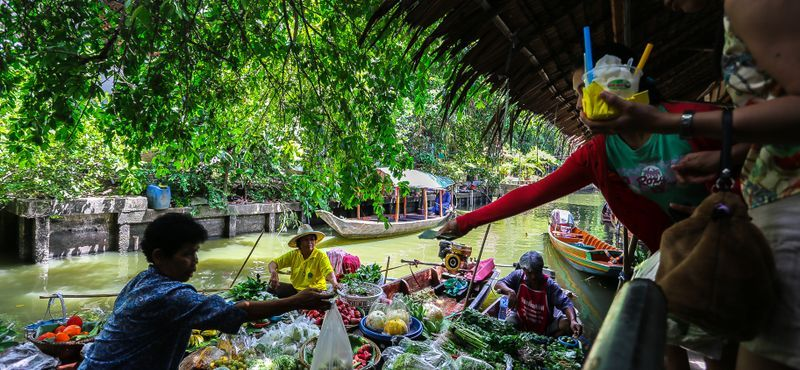 Khlong Lat Mayom, The most authentic Weekend floating market of Bangkok